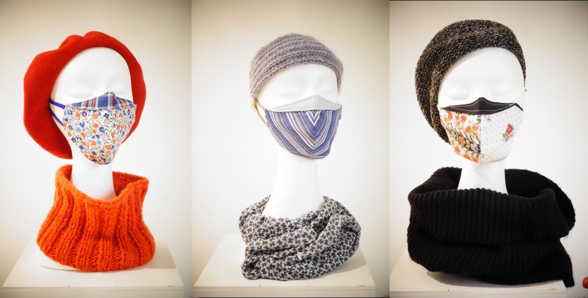 Masques modèles coque / 01